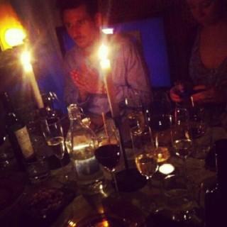 Middag hos Hanna