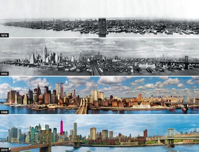 New York - Then and Now