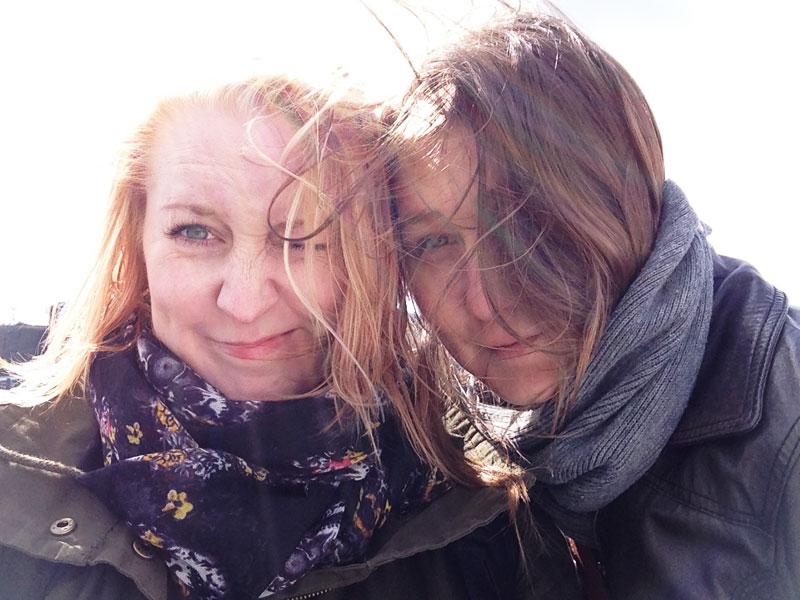 Jag och Hanna
