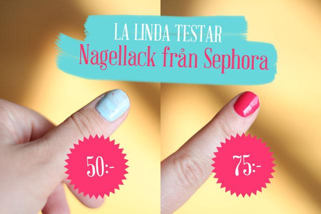 La Linda testar: Nagellack från Sephora