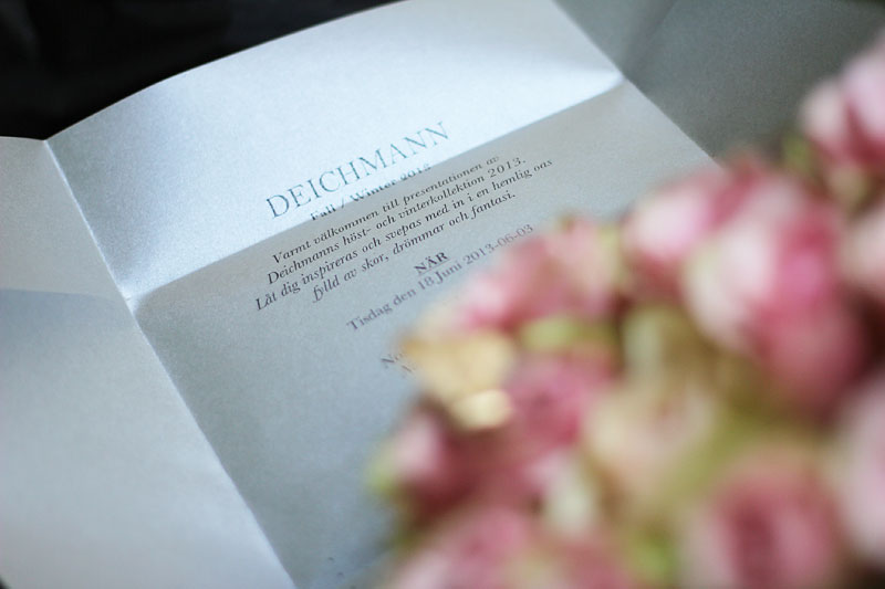 Deichmann inbjudan