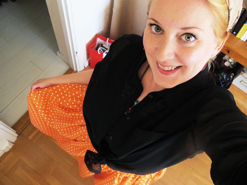 Min nya kjol!