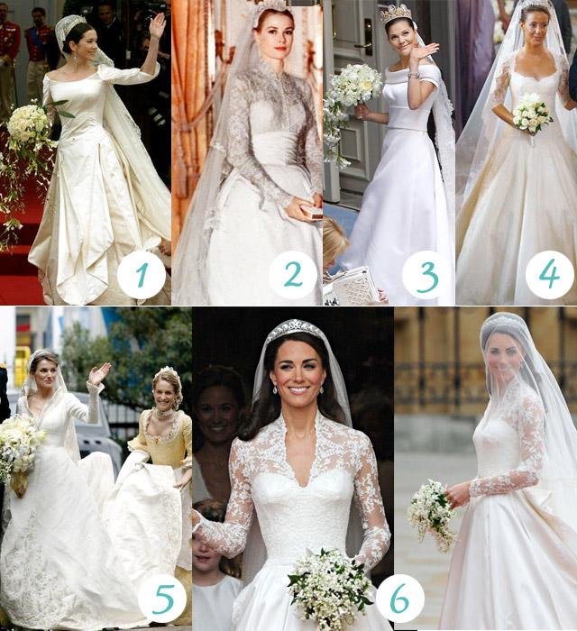 21d45bfc79b5 Bröllopsdags: Favoritklänningar bland prinsessorna! - La Linda