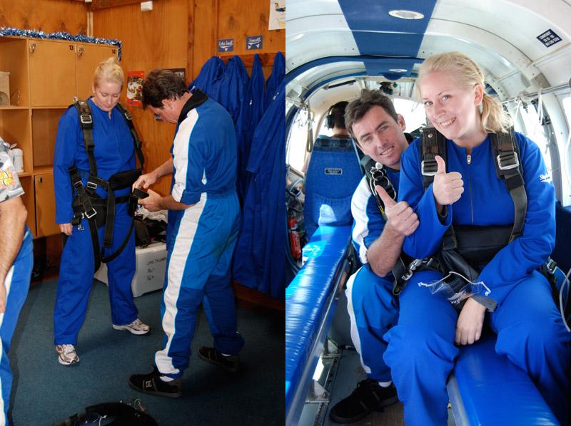 Fallskärmshopp Nya Zeeland