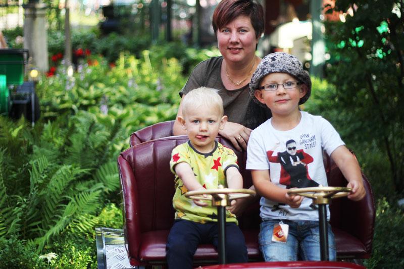 Maria, Lukas och Linus