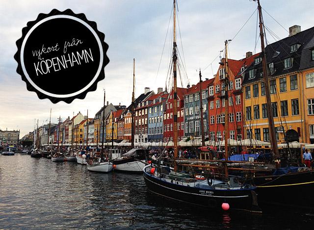 Vykort från Köpenhamn