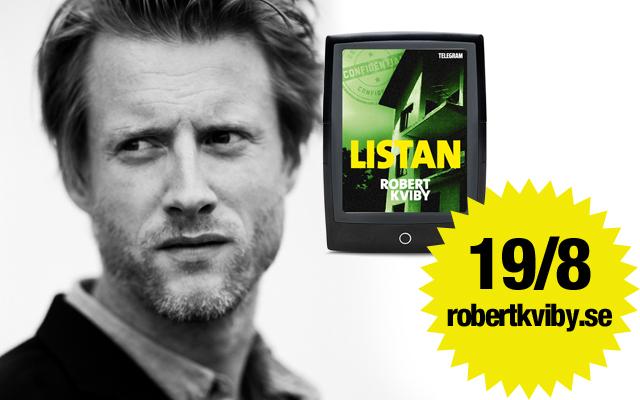 Robert Kviby - LISTAN