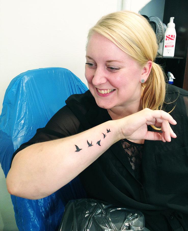 Tatuering Carneval Tattoo