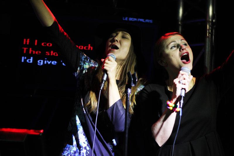 Karaoke på Bon Palais