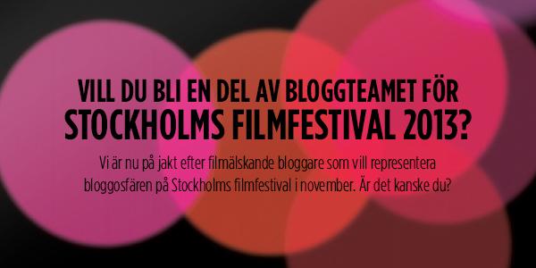 Stockholms Filmfestivals Bloggteam