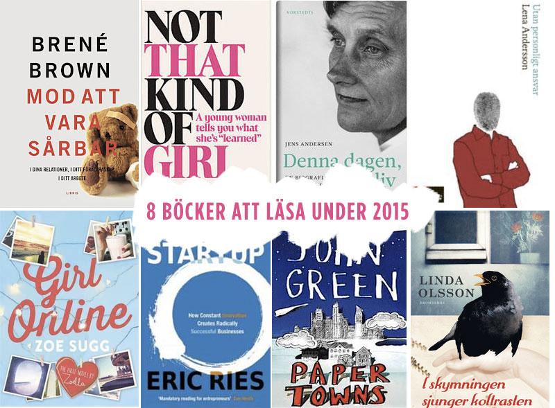 8 böcker att läsa under 2015