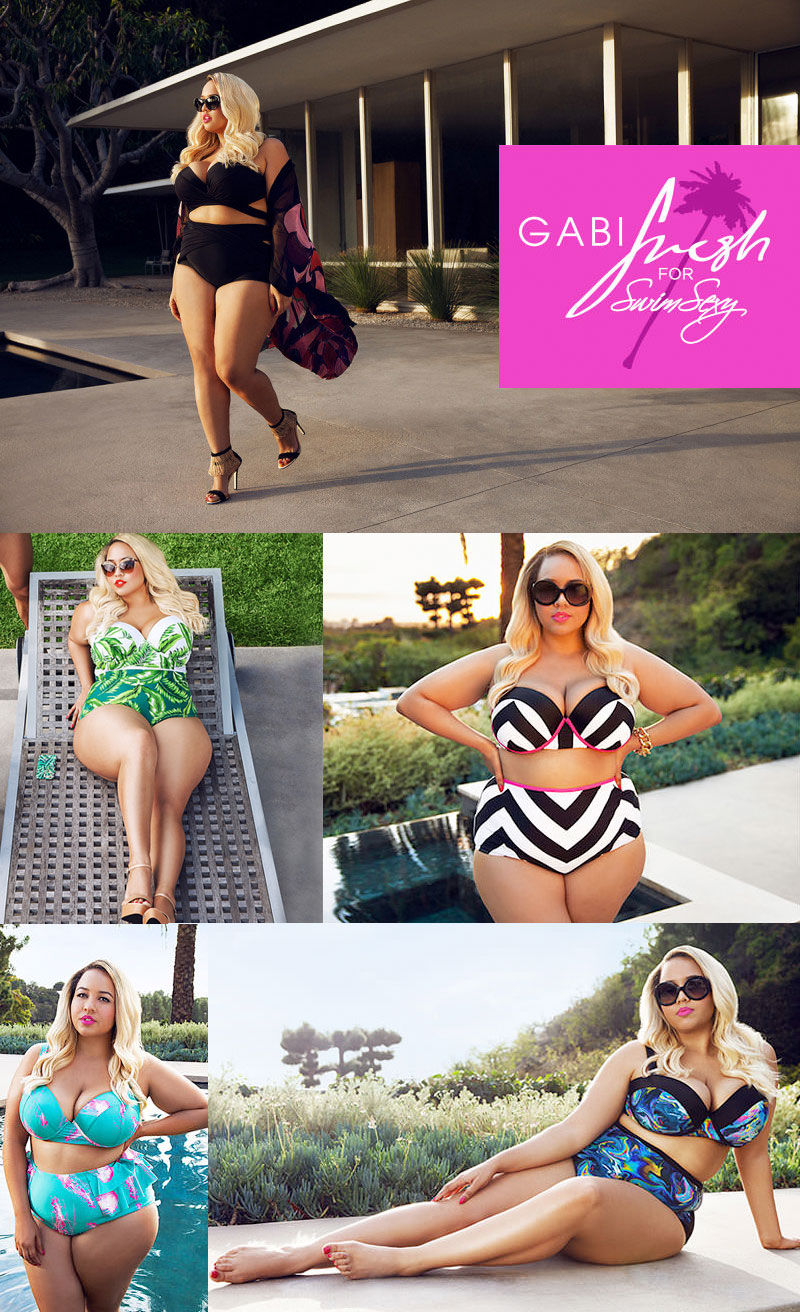 The GabiFresh for Swim Sexy 2015 Collection at Swimsuits For All