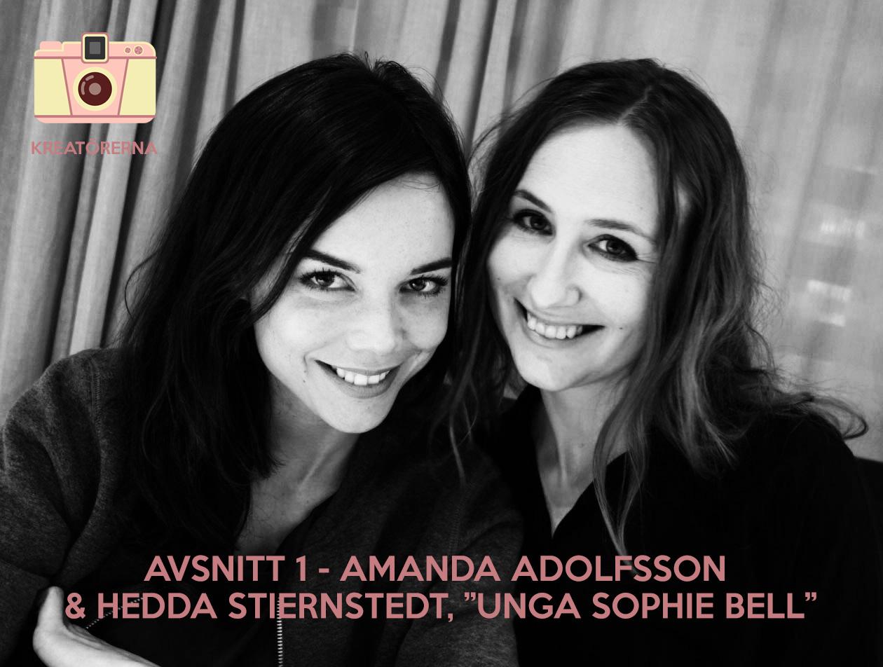 Kreatörerna - Amanda Adolfsson och Hedda Stiernstedt