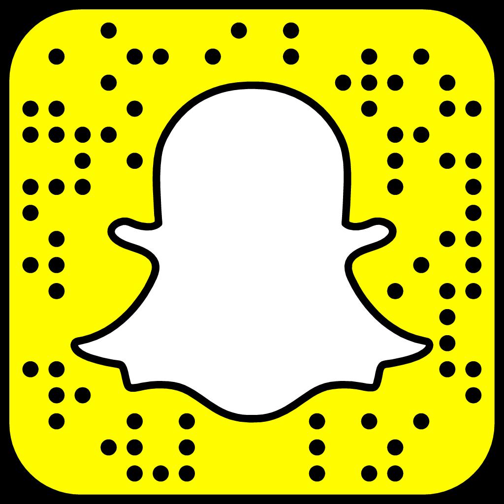 Följ mig genom att fota bilden ovan i Snapchat-appen!