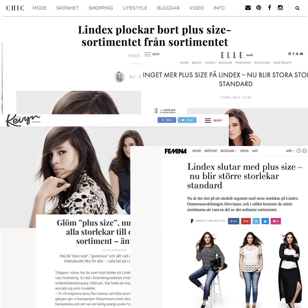 Press för Lindex