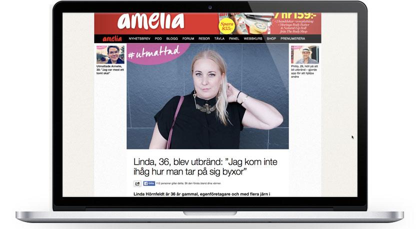 Amelia #utmattad