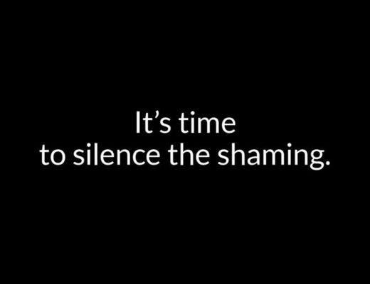 Silence the shaming