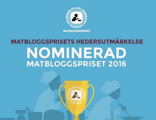 Matbloggspriset Hedersutmärkelse