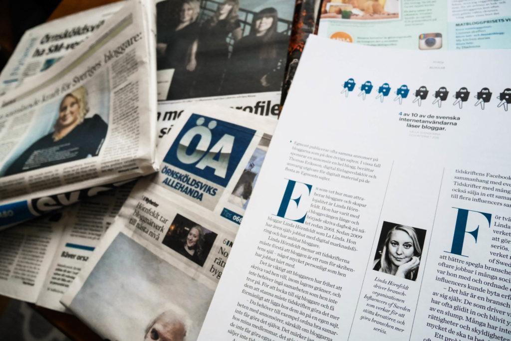 ÖA, Buffé, Nacka Värmdö Posten och Allt Om Tidskrifter