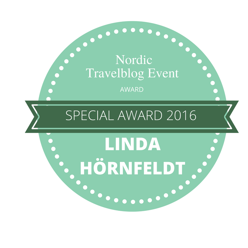 Nordic Travel Blog Event Special Award 2016