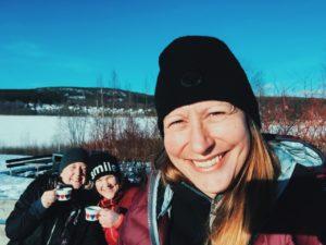 Höglandssjön med Jenny