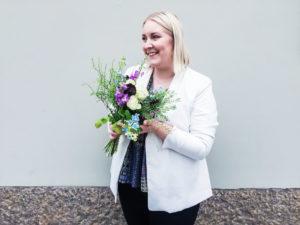 Floristkurs på Medborgarskolan