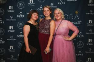Elin, Clara och jag på Stora Influencerpriset