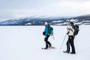 Snöskor på Åresjön