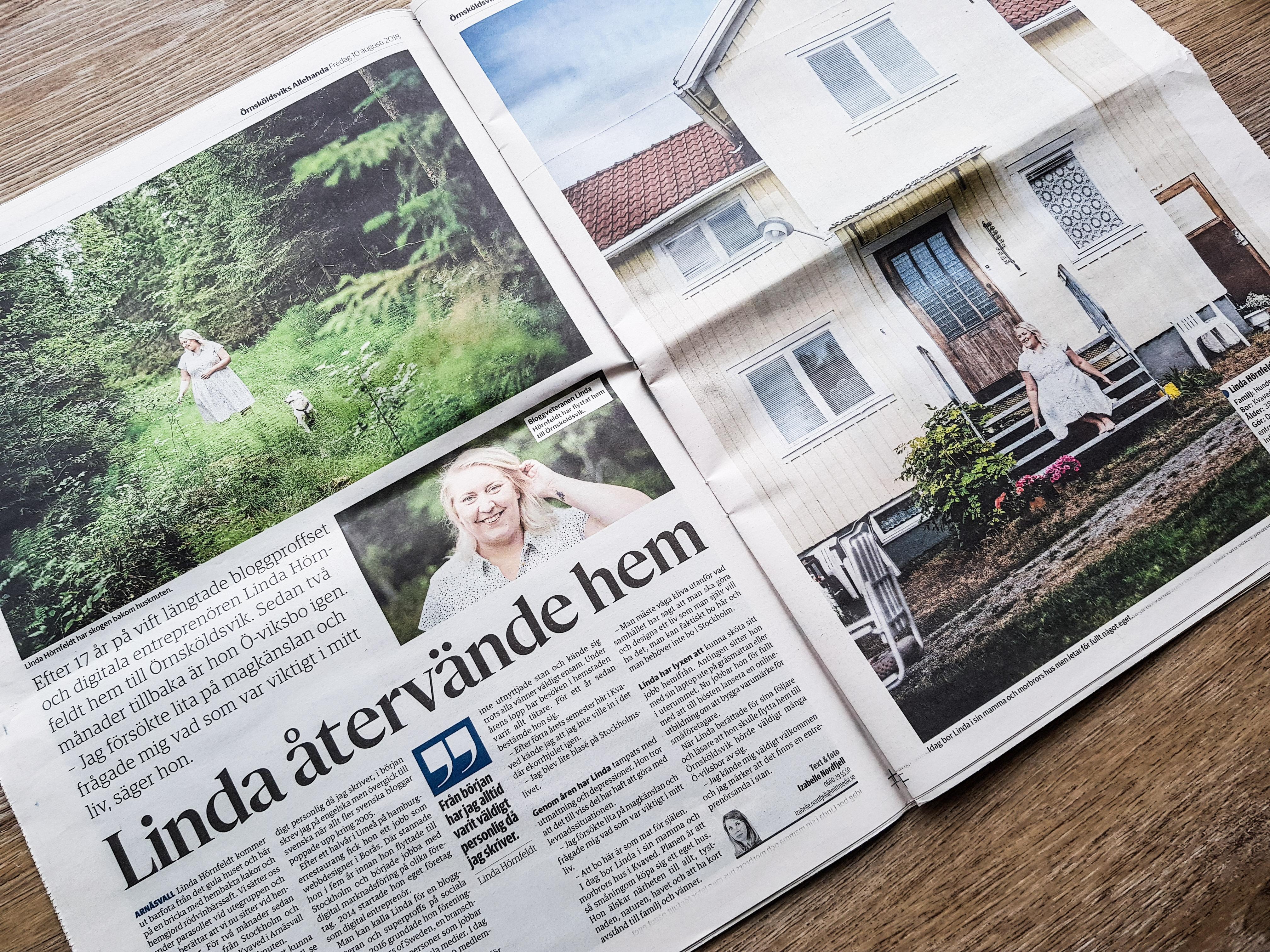 Örnsköldviks Allehanda Linda Hörnfeldt