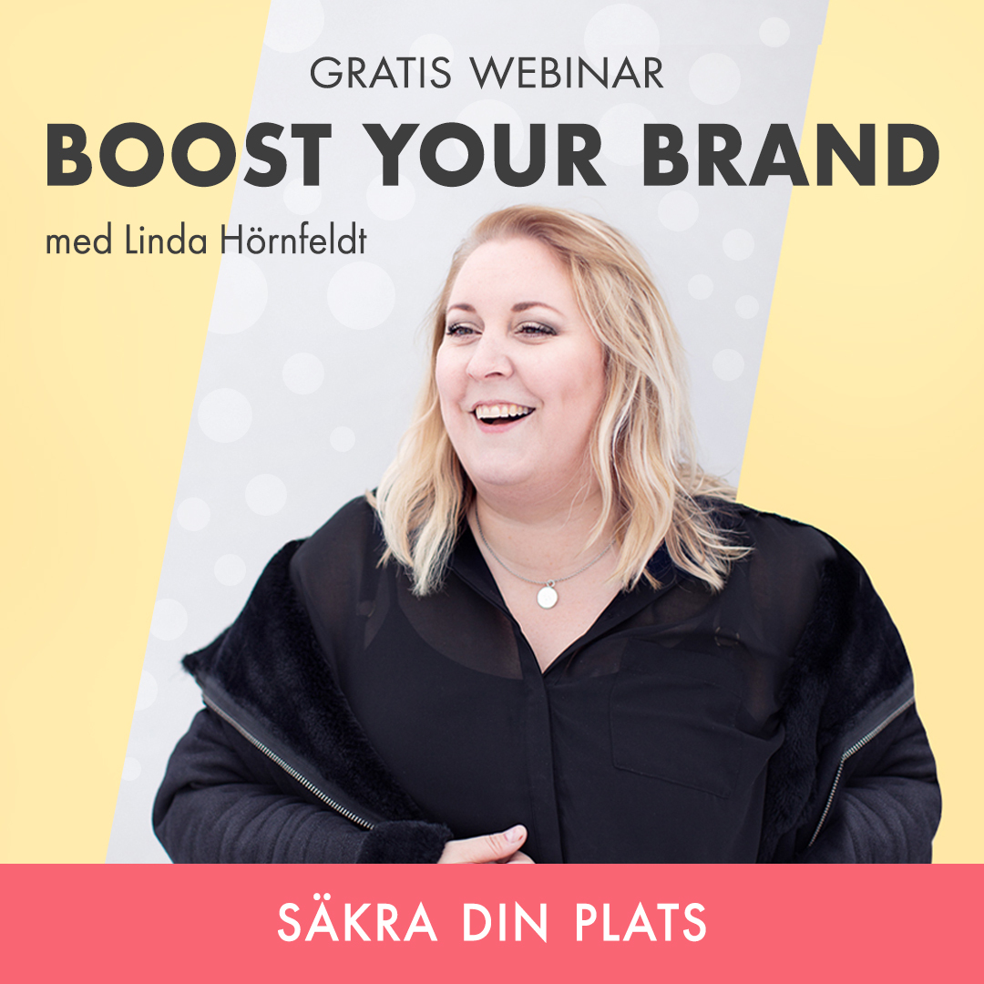 Boost Your Brand WEBINAR