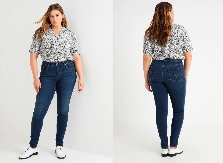 Levis plus size jeans