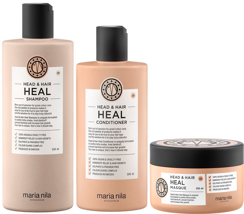 MARIA NILA HEAD & HAIR HEAL TRIO