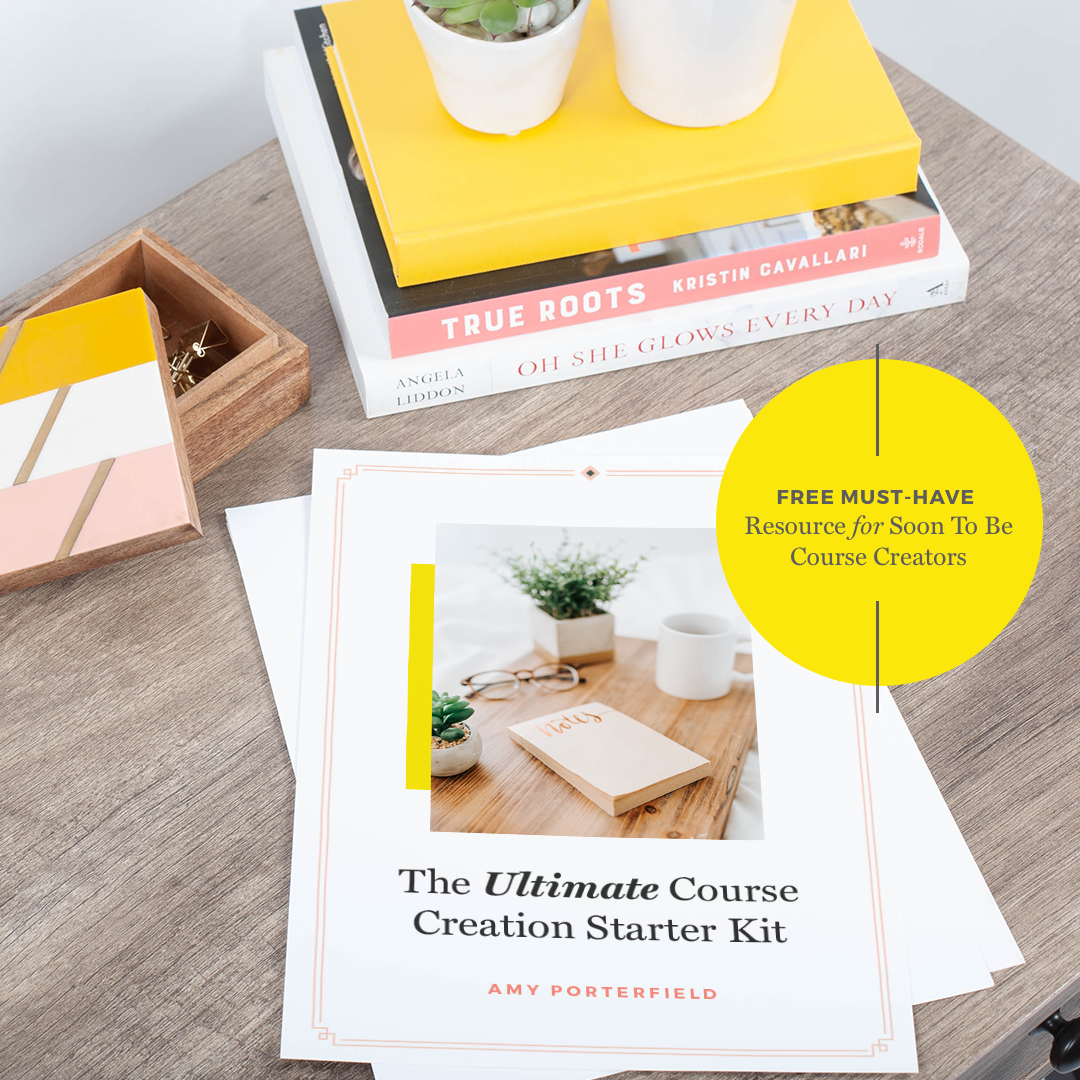 Amy Porterfield - Course Creation Starter Kit