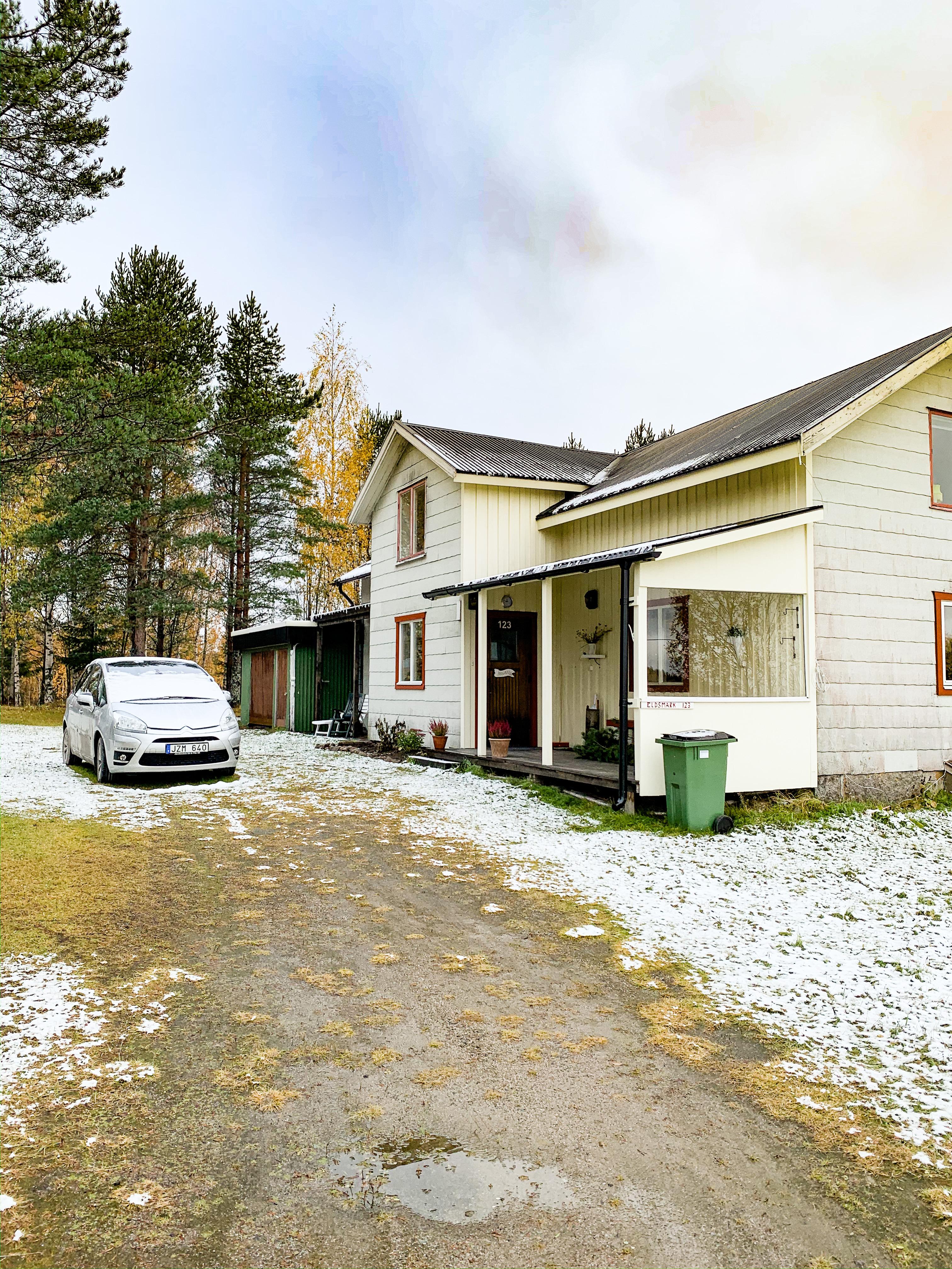 Snö i Eldsmark