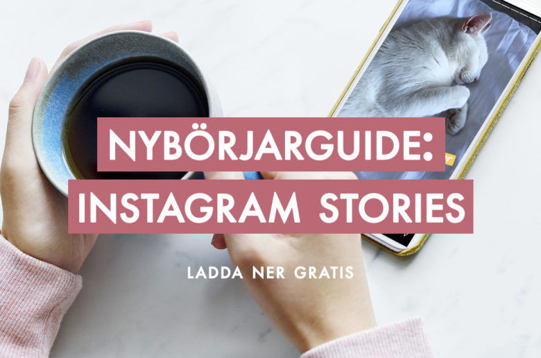 Nybörjarguide till Instagram Stories