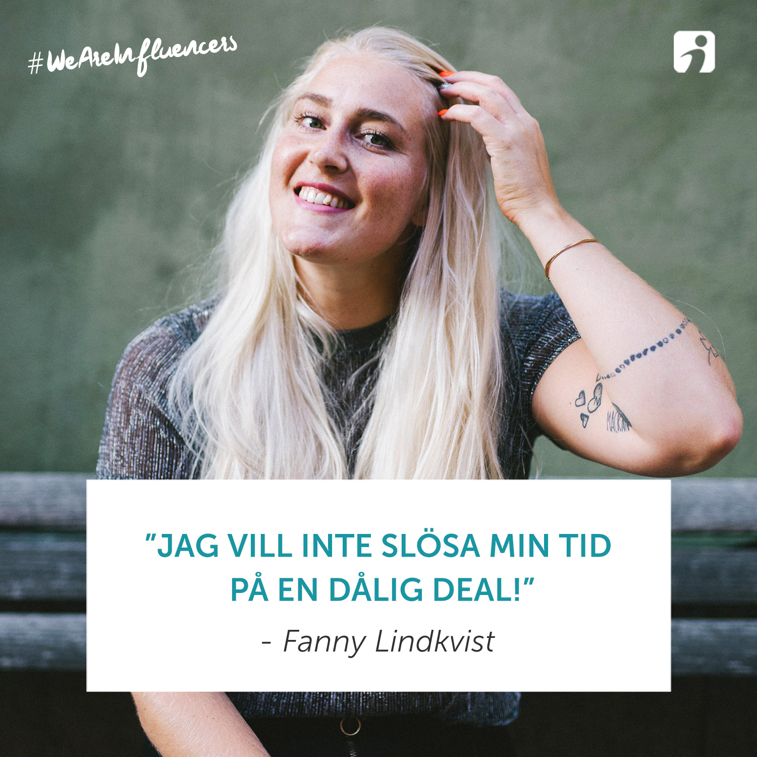 We Are Influencers - Fanny Lindkvist