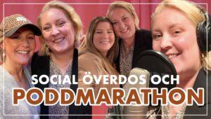 poddmarathon och social överdos i stockholm | vlogg